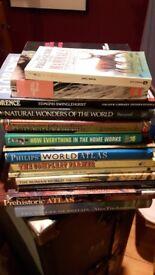 Selection hardback referencs books