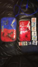 Nintendo 3DS XL - LMT Ed. Legendary Pokemon X/Y - Themed case - USB charger + 9 Games (RRP: £400)