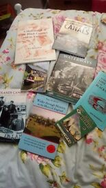 Canal & walk books incl 1950s i spy original