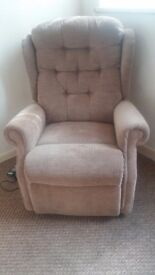 Dual motor riser reclining chair