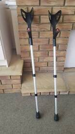 Cheap pair of crutches