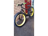 Cube fatboy mountain bike!! CAN HOLD TILL XMAS!!