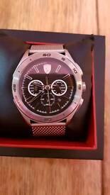 Mens Ferrari watch boxed in brand new