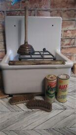 sluice sink vintage for new build etc. vintage named