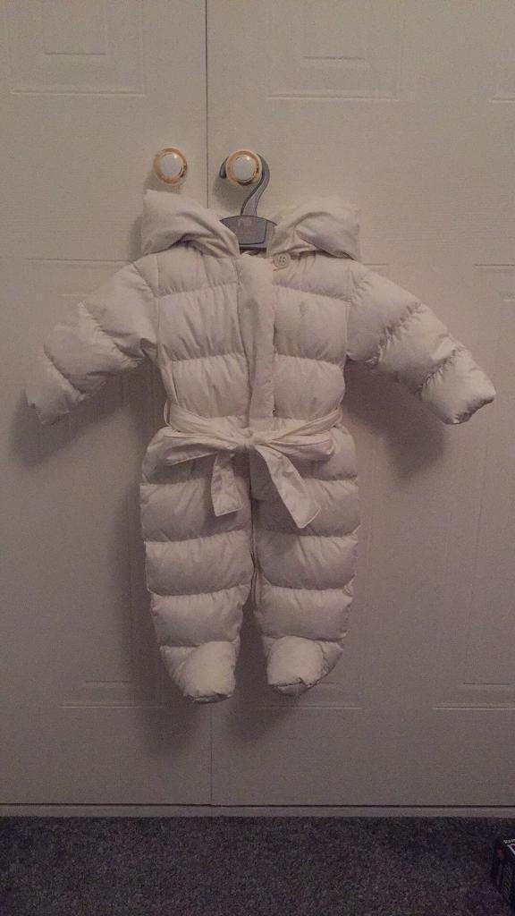 Beautiful like new girls Ralph Lauren snowsuit 3 months