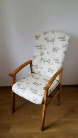 Vintage retro arm chair