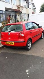 Volkswagen polo 2002 /part service history