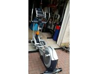 Gym quality cross trainer for sale hardly used