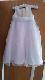 Gala / fair day communion dress - john lewis