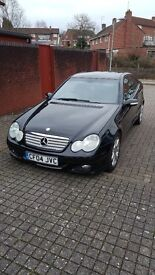 Mercedes C200 SE EVOLUTION Sports Coupe, Face Lift 6 Speed Manual
