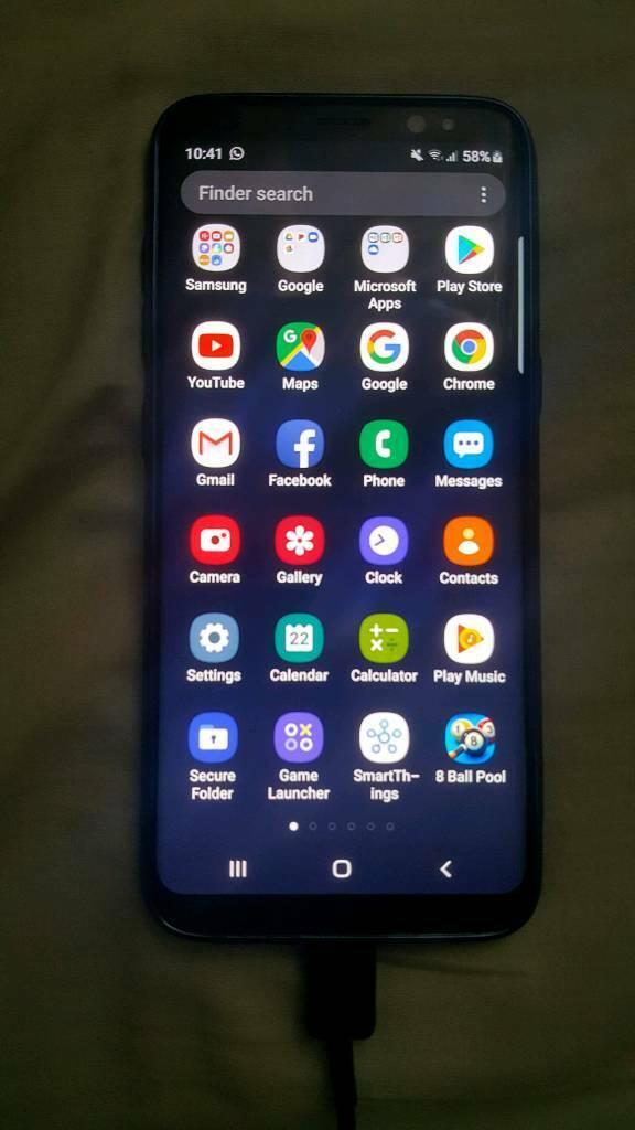 Samsung Galaxy S8 64GB Midnight Black | in Lees, Manchester | Gumtree