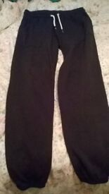 tracksuit bottoms lable size 6