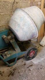 Barrowmix 240v electric concrete mixer