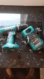 Makita drill and charger no battery