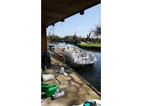 40 ft boat mooring for rent - private and licence free until you cruise.