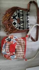 Ladies Billabong and roxy bags