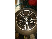 Fox alloys and tyres