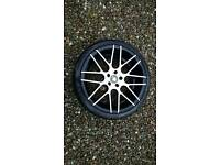 "Cades 19"" Alloys and tyres 5×112. Suit most VW Group cars and vans"
