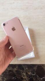 Brand New IPhone 7 Rose Gold unlocked