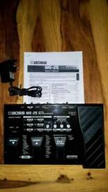 Boss ME-25 Guitar Multiple Effects pedal / swap for chorus pedal