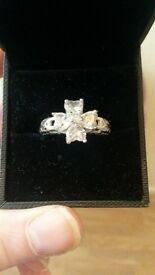 silver hallmarked ring still for sale