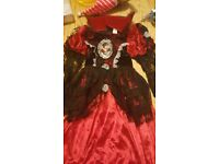Girls Hallowean Costume Age 5-6yrs