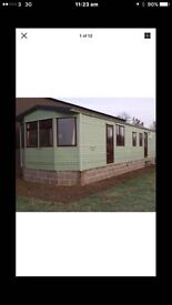 Mobile home to rent Hinckley (pets welcome)