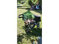 Jane Travel system: Slalom Reverse pushchair + Strata car seat + Isofix base