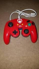 Mario Wii u smash controller