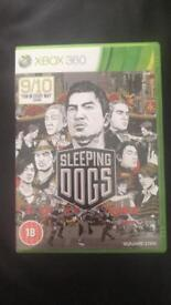 Sleeping dogs Xbox 360 game