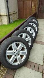 Range rover alloys