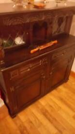 Vintage sideboard /display cabinet