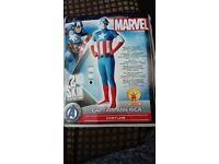 Adults Captain America Costume