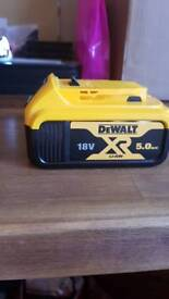 Dewalt 18v 5ah battery