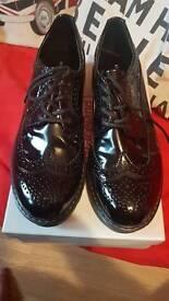 Gracelands shoes black patient size 6