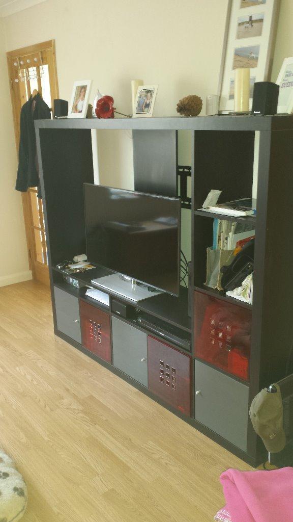 Ikea High Gloss tv Unit Ikea Expedit/lappland tv Unit