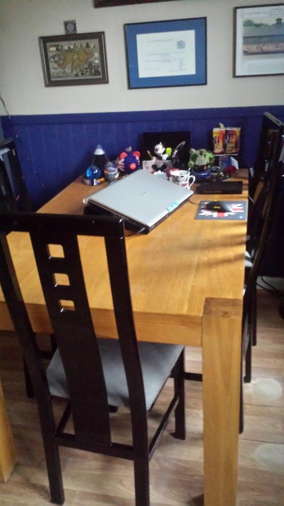 dining room kitchen table chairs in east kilbride glasgow gumtree