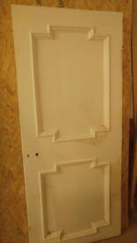 Georgian 2 panel Yellow pine doors