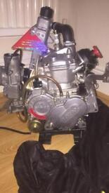 125cc race tuned racing kart