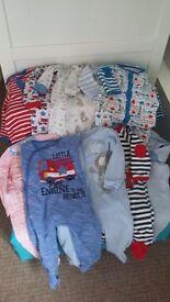 Huge bundle boys clothing aged 6-9 months