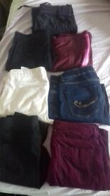 jeans and trousers for ladies or girls