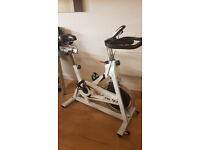 Barely used exercise bike worth £160 must go ASAP, moving flat