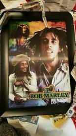 2x Bob Marley Pictures