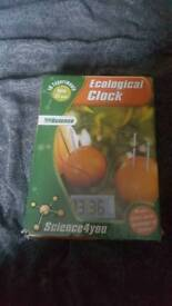 Ecological clock