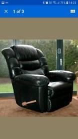Lazy boy heated massage recliner