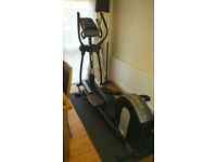 Nordic Track E11.6 Rear Drive Elliptical Cross Trainer with Powered Intensity Ramp - As New