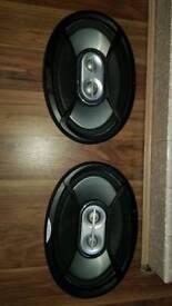 6×9 Set of speakers