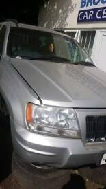 BREAKING Jeep Grand Cherokee 2.7crd, 2004reg, Vehicle