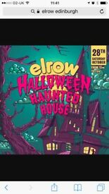 2x Elrow Tickets £100 for both