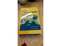 High Performance Teams Book